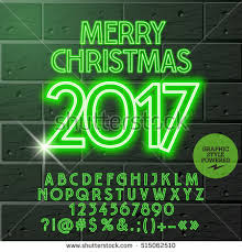 vector light merry christmas 2017 greeting stock vector 503938624