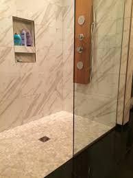 bed u0026 bath pebble stone tiles pebble shower floor