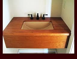 Bathroom Vanity Countertop Ideas Wood Bathroom Vanity Top Ideas Glamorous Diy Onsingularity