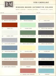 official cadillac color names and paint codes archive cadillac
