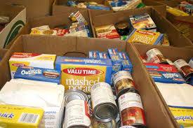 johnson city press samaritan packing thanksgiving food for