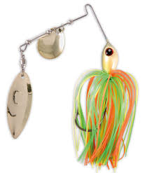 spinnerbait take spinnerbait orange green yellow u2013 glasgow angling centre