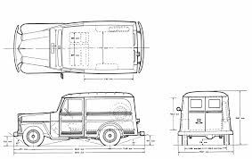 jeep station wagon willys jeep station wagon blueprint download free blueprint for