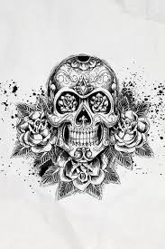 skull u0026 rose design tattoo inspiration pinterest rose design