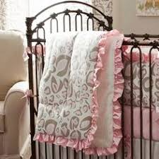 Pink Cheetah Crib Bedding Pink And Taupe Leopard Crib Bedding Baby Bedding In Leopard