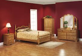 modern minimalist bedroom with perfect soft brown wall color and