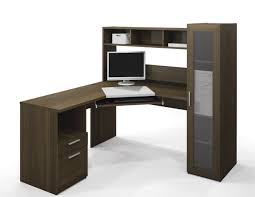 L Shaped Home Office Desk Corner L Shaped Office Desk With Hutch Beige Leather Sea Organizer