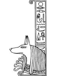 ancient egypt coloring page wadjet a cobra head figure of ancient egypt paharoh coloring page