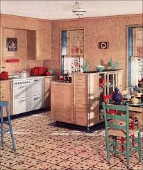 1930s home interiors 1936 armstrong linoleum kitchen ad design inspiration vintage