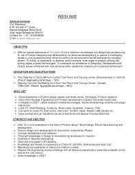 Sample Resume For Assembly Line Operator by Download Cad Design Engineer Sample Resume Haadyaooverbayresort Com