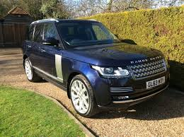 range rover silver 2016 used land rover range rover vogue for sale motors co uk
