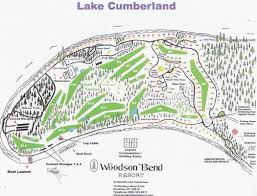 Richmond Ky Map Woodson Bend Resort Lake Cumberland Kentucky
