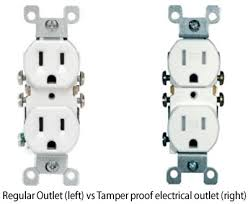 child proof your home with tamper proof electrical outlets