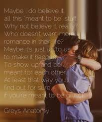 wedding quotes greys anatomy to each other even when we each other no running
