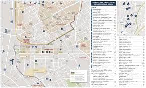 New Orleans Convention Center Map by Dallas Hotels And Tourist Attractions Map