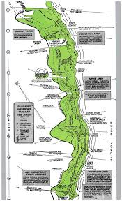 Interstate Map Putting The Park On Paper Palisades Interstate Park In New Jersey