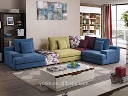 New Arrival Modern Living Room Wooden Furniturecorner Sofa Set - Home furniture sofa designs