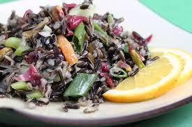 rice salad with pistachios golden raisin vinaigrette