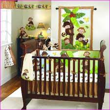 Boy Monkey Crib Bedding Best Crib Bedding Sets For Boys Ideas Home Designs Insight