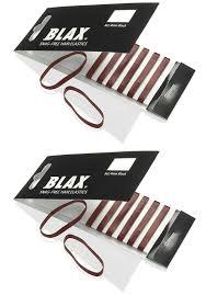 blax hair elastics blax black snag free hair elastics 4mm 2 pack