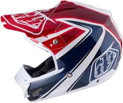 cheap motocross helmets troy lee designs se3 neptune red white blue motocross helmets troy