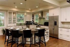 u shaped kitchen island u shaped kitchen with peninsula wooden seat bars siding glass door u