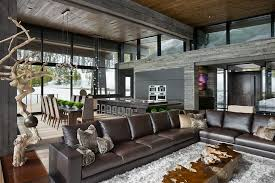 mountain homes interiors of architecture luxury and mountain home by
