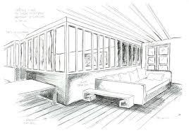chambre en perspective comment dessiner sa chambre comment dessiner une en