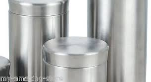 stainless steel canisters kitchen stainless steel canister kitchen storage containers set spice