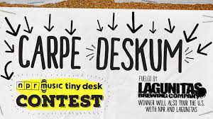 Npr Small Desk You Can Now Enter The 2017 Tiny Desk Contest All Songs