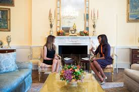 Interior Design White House Michelle Obama In Tan Suit At D C High Fashion And