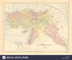 Syria Turkey Map by Turkey In Asia U0027 Levant Syria Cyprus Mesopotamia Stock Photo
