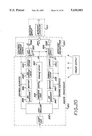patent us5420883 train location and control using spread