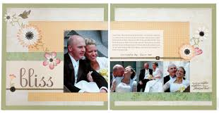 Wedding Scrapbook Page Scrapbook Wedding