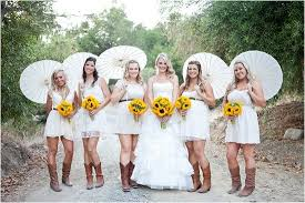 country style bridesmaid dresses rustic sunflower wedding ideas rustic bridesmaid dresses lace
