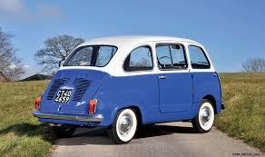 fiat multipla 600 rm monaco 2016 1965 fiat 600 multipla first 7 seat minivan