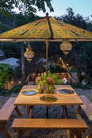 Patterned Patio Umbrellas 25 Outdoor Lantern Lighting Ideas That Dazzle And Amaze