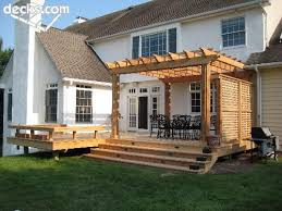 How To Build A Pergola On An Existing Deck by Best 25 Deck Pergola Ideas On Pinterest Deck With Pergola