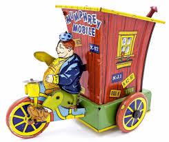 Howdy Doody Rocking Chair 1940 U0027s Wyandotte Joe Palooka Humphrey Mobile Tin Windup Motorcycle