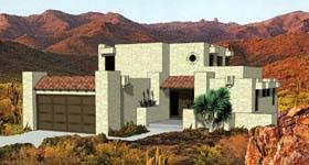 pueblo style house plans house plan 94423 at familyhomeplans