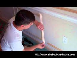 Decorative Wall Frame Moulding Decorative Molding Constructing Shadow Boxes Youtube