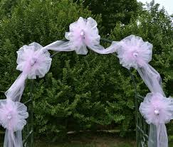 wedding arches using tulle 10 pretty ideas for using wedding arches bestbride101