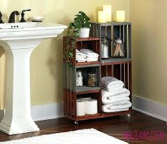 unique bathroom towel storage ideas telecure me