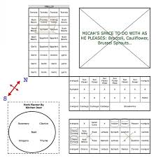 Companion Gardening Layout Pennsylvania Square Foot Gardening Plan My Square Foot Garden