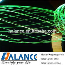 Christmas Tree With Optical Fiber Lights - optical fiber ribbon net light for tree decorations buy optical