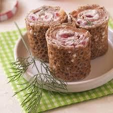 cuisiner sarrasin galettes de sarrasin roulées au saumon recettes à cuisiner