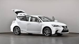 lexus ct 200h 5 door 1 8 f sport used lexus ct 200h 1 8 f sport 5dr cvt auto navigation white