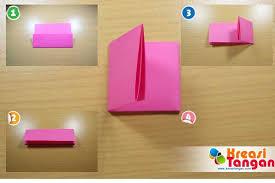 cara membuat bunga dari lipatan kertas tutorial cara membuat bunga dari kertas revangga devrat