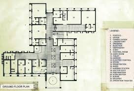Doctor Office Floor Plan by Urban Health Centrs At Amritsar Punjab