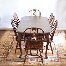 solid maple dining table solid maple dining table and chairs by e r buck ebth